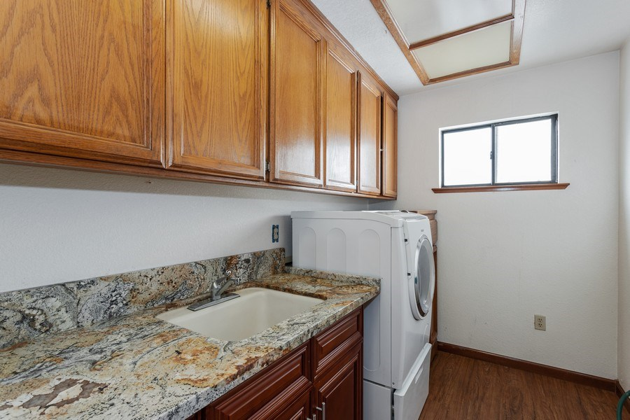 Real Estate Photography - 6273 Riverside Blvd, Sacramento, CA, 95831 - Laundry Room