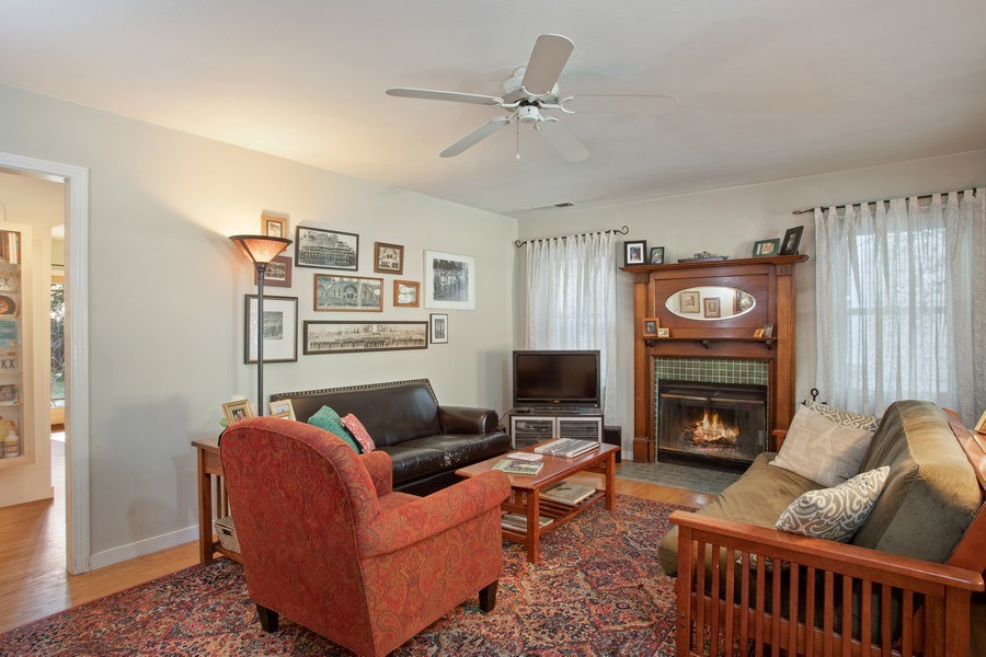 Real Estate Photography - 4308 F St, Sacramento, CA, 95819 - Living Room