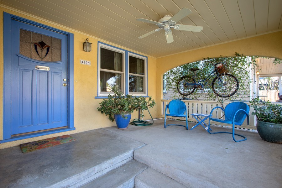 Real Estate Photography - 4308 F St, Sacramento, CA, 95819 - Porch