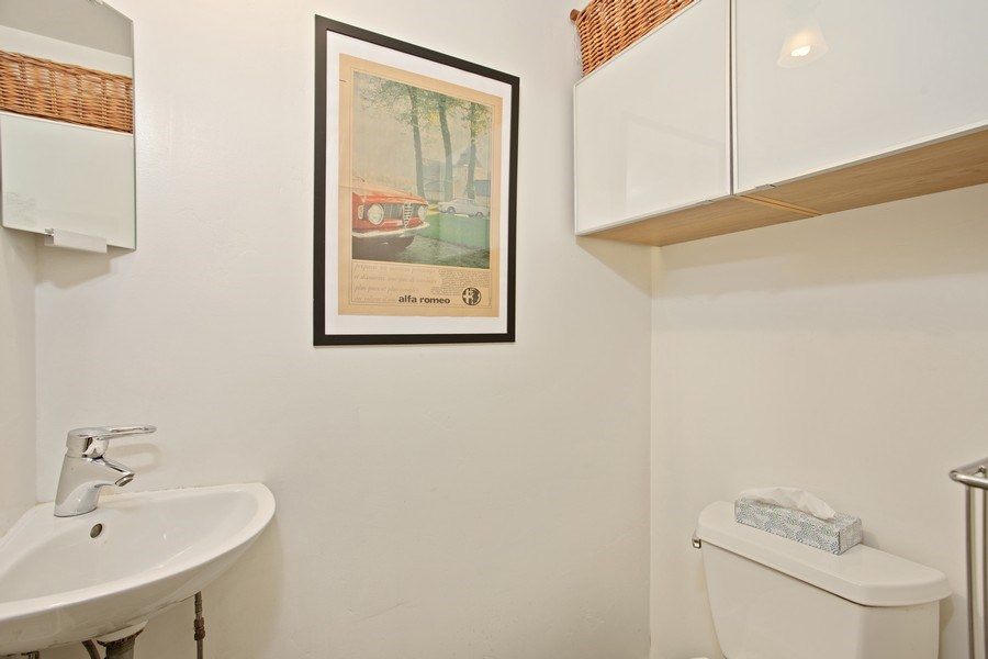 Real Estate Photography - 4308 F St, Sacramento, CA, 95819 - Half Bath