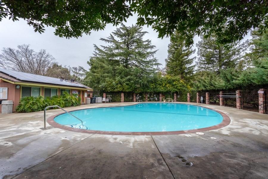 Real Estate Photography - 1920 El Paso Ave, Unit 4, Davis, CA, 95618 - Pool