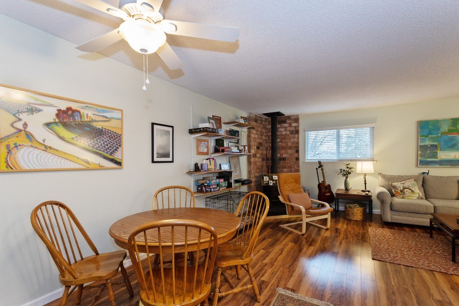 Real Estate Photography - 1920 El Paso Ave, Unit 4, Davis, CA, 95618 - Living Room/Dining Room