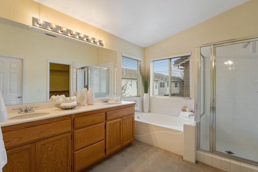 Real Estate Photography - 1026 San Gallo Terrace, Davis, CA, 95618 - Master Bathroom