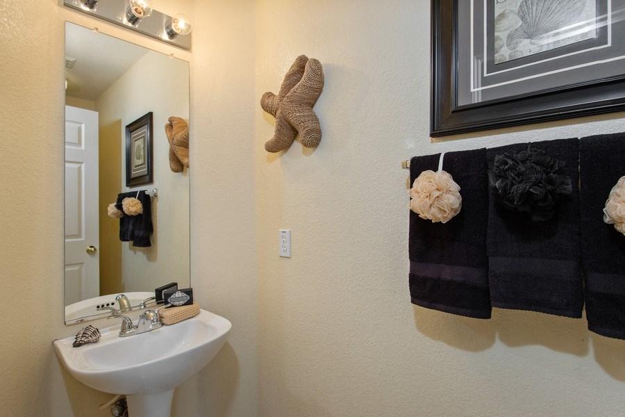 Real Estate Photography - 1026 San Gallo Terrace, Davis, CA, 95618 - Half Bath