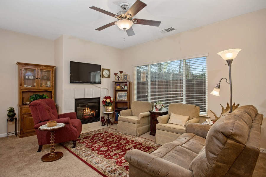 Real Estate Photography - 2505 Chesapeake Bay Circle, Cameron Park, CA, 95682 - Living Room