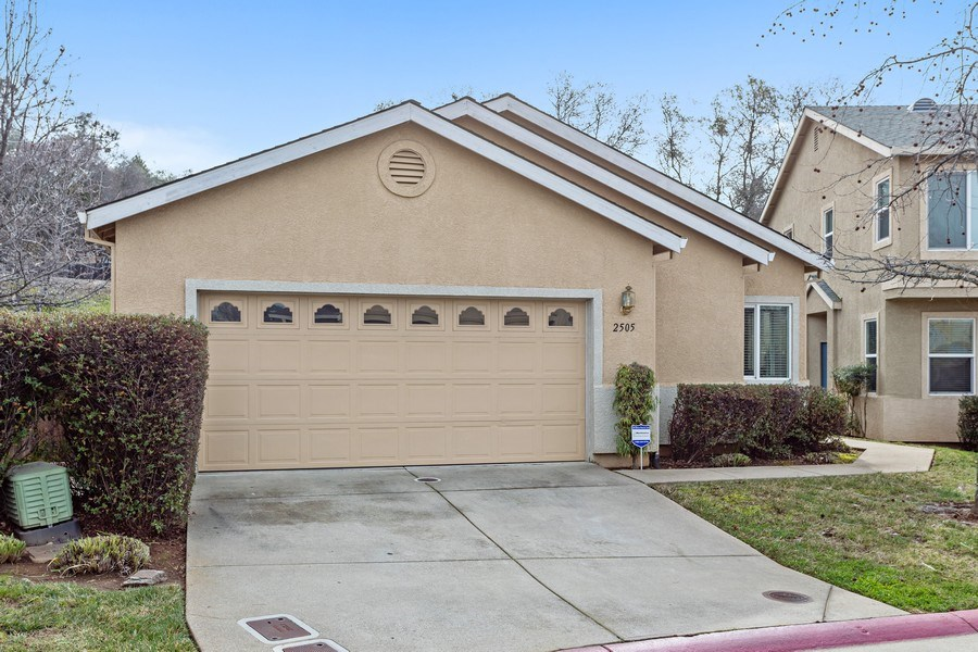 Real Estate Photography - 2505 Chesapeake Bay Circle, Cameron Park, CA, 95682 - Front View