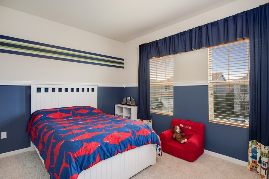 Real Estate Photography - 2264 Trimstone Way, Roseville, CA, 95747 - 3rd Bedroom