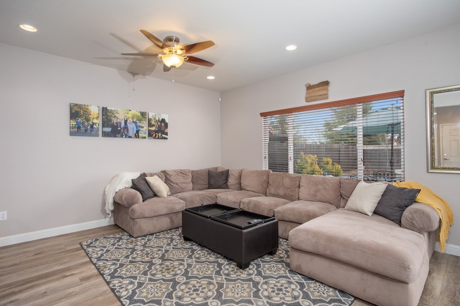 Real Estate Photography - 2264 Trimstone Way, Roseville, CA, 95747 - Family Room