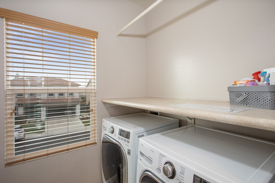 Real Estate Photography - 2264 Trimstone Way, Roseville, CA, 95747 - Laundry Room