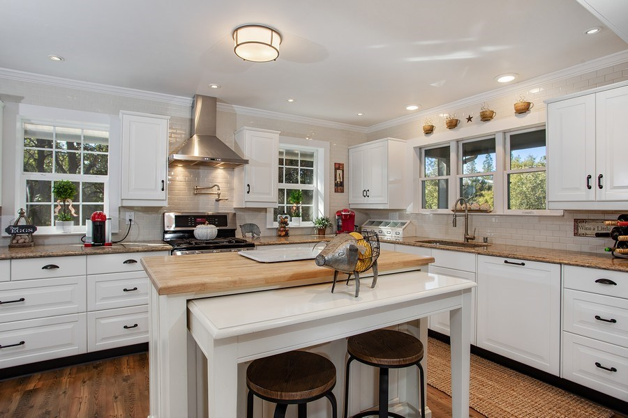 Real Estate Photography - 711 Quail Haven Rd, Colfax, CA, 95713 - Kitchen