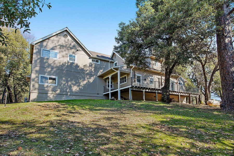 Real Estate Photography - 711 Quail Haven Rd, Colfax, CA, 95713 - Rear View