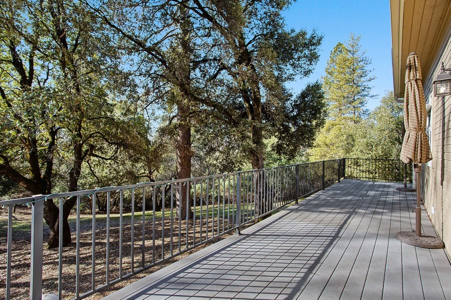 Real Estate Photography - 711 Quail Haven Rd, Colfax, CA, 95713 - Deck