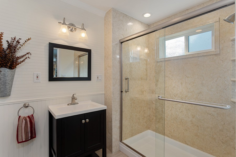 Real Estate Photography - 711 Quail Haven Rd, Colfax, CA, 95713 - Downstairs Bathroom