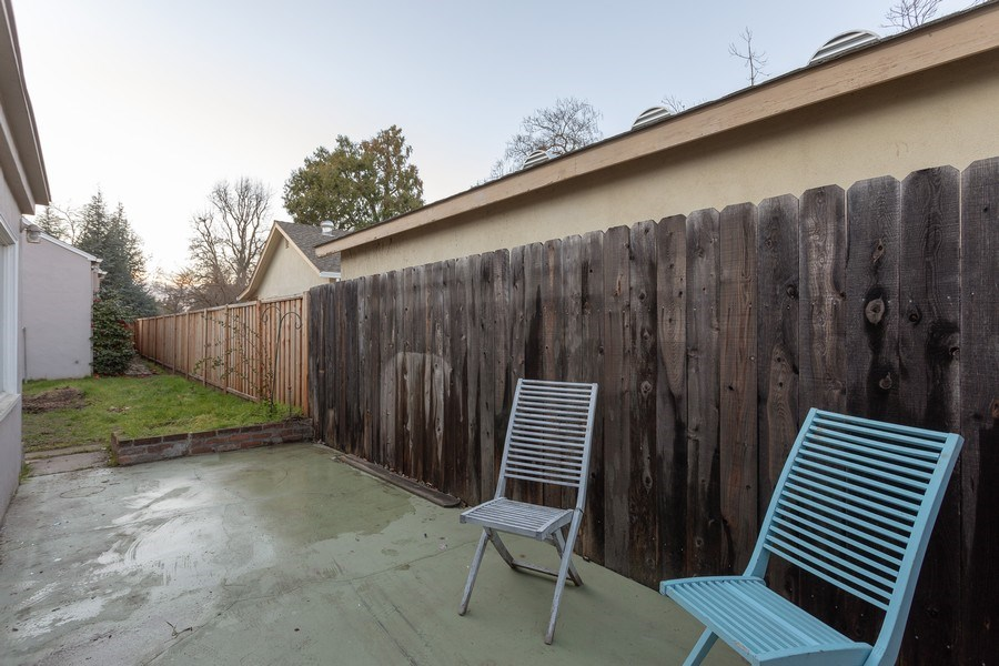 Real Estate Photography - 4729 Mead Avenue, Sacramento, CA, 95822 - Side Yard