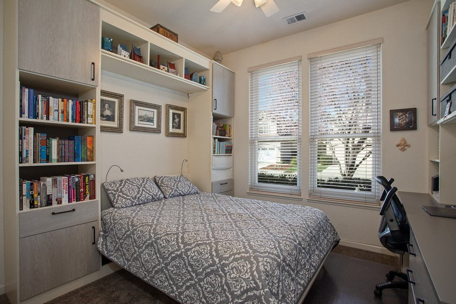 Real Estate Photography - 1512 Navajo St., Davis, CA, 95616 - 2nd Bedroom with Murphy Bed