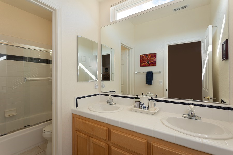 Real Estate Photography - 1512 Navajo St., Davis, CA, 95616 - 2nd Bathroom