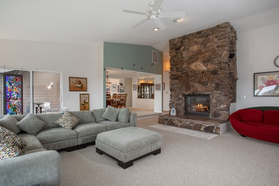 Real Estate Photography - 3080 Carlson Dr, Shingle Springs, CA, 95682 - Living Room