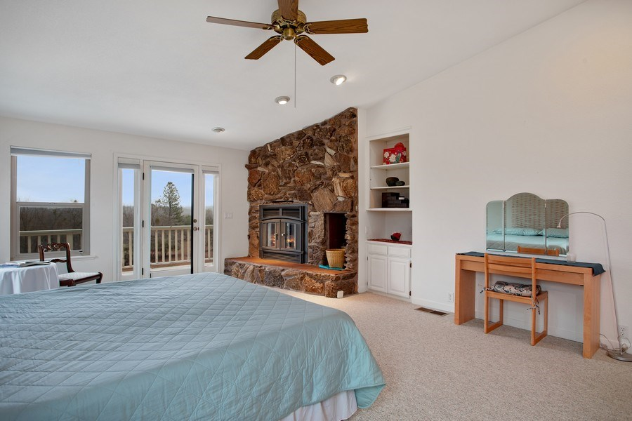 Real Estate Photography - 3080 Carlson Dr, Shingle Springs, CA, 95682 - Master Bedroom