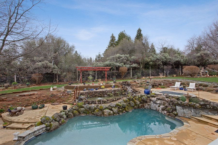 Real Estate Photography - 3080 Carlson Dr, Shingle Springs, CA, 95682 - Pool