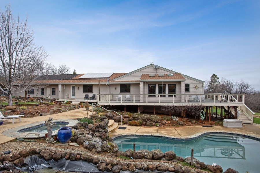 Real Estate Photography - 3080 Carlson Dr, Shingle Springs, CA, 95682 - Rear View