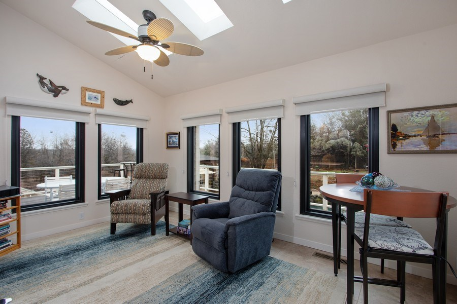 Real Estate Photography - 3080 Carlson Dr, Shingle Springs, CA, 95682 - Sun Room