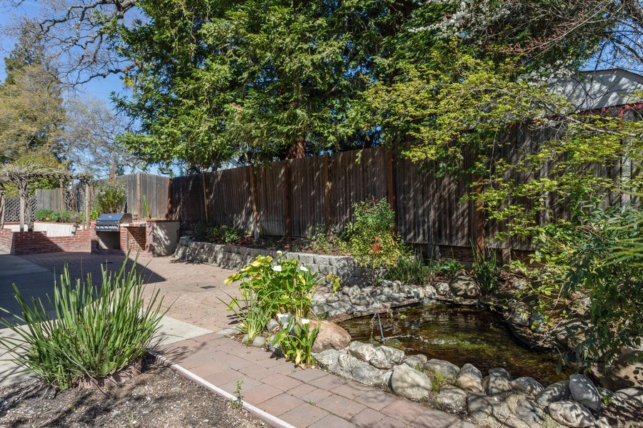 Real Estate Photography - 309 Walton Way, Roseville, CA, 95678 - Pond
