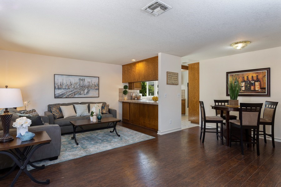 Real Estate Photography - 309 Walton Way, Roseville, CA, 95678 - Family Room / Kitchen