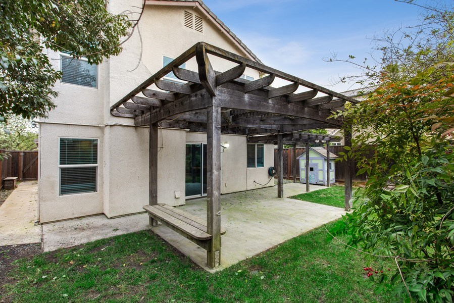 Real Estate Photography - 1408 Santander Ct., Davis, CA, 95618 - Rear View