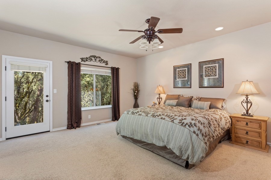 Real Estate Photography - 910 Eden Valley Rd, Colfax, CA, 95713 - Master Bedroom