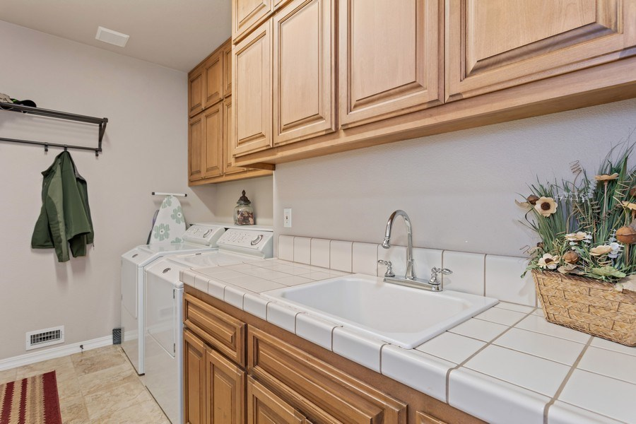 Real Estate Photography - 910 Eden Valley Rd, Colfax, CA, 95713 - Laundry Room