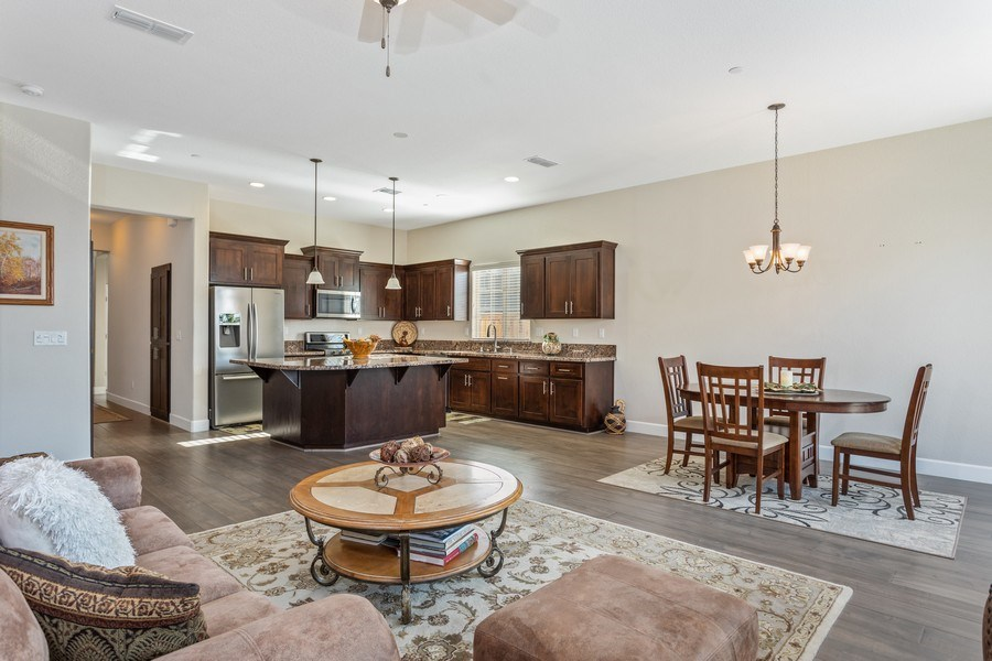 Real Estate Photography - 2901 Laredo Dr, Rocklin, CA, 95765 - Kitchen / Living Room