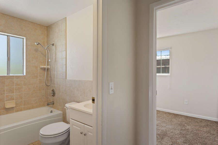 Real Estate Photography - 6810 Casa Vista Drive, Loomis, CA, 95650 - Guest House Bathroom