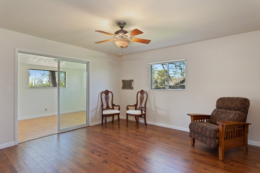 Real Estate Photography - 6810 Casa Vista Drive, Loomis, CA, 95650 - Guest House Living Room