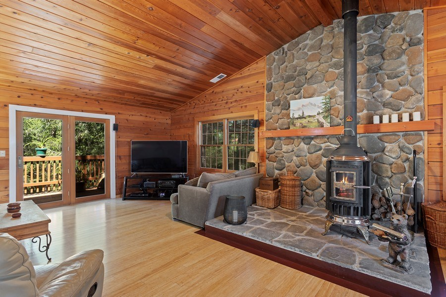 Real Estate Photography - 277 Twin Pines, Weimar, CA, 95736 - Family Room