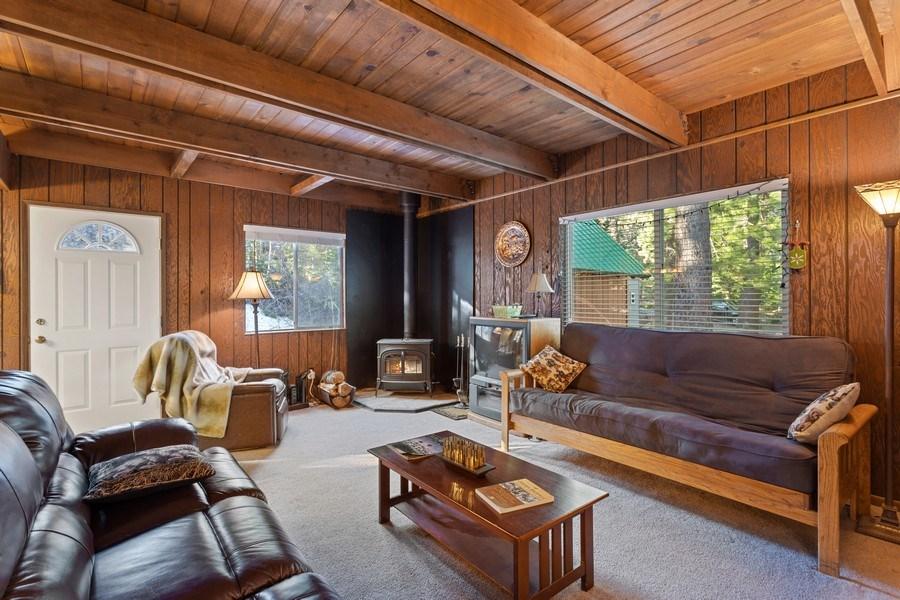 Real Estate Photography - 40980 Skyline Dr, Emigrant Gap, CA, 95715 - Living Room