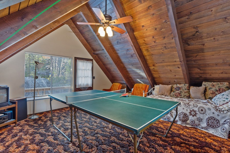 Real Estate Photography - 40980 Skyline Dr, Emigrant Gap, CA, 95715 - Upstairs 4th Bedroom/Bonus room