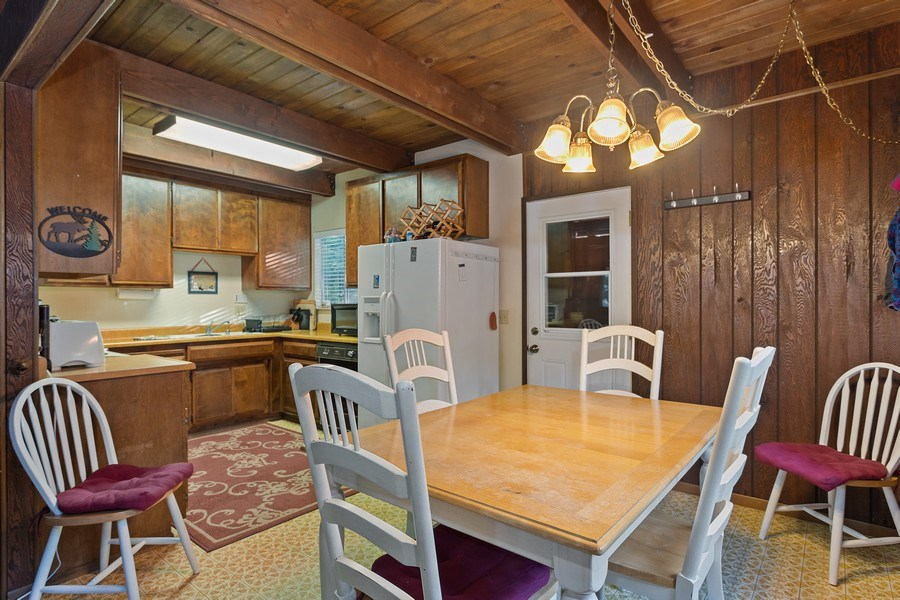 Real Estate Photography - 40980 Skyline Dr, Emigrant Gap, CA, 95715 - Dining Room