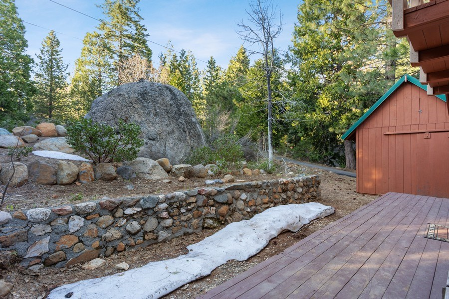 Real Estate Photography - 40980 Skyline Dr, Emigrant Gap, CA, 95715 - Front Deck/Porch