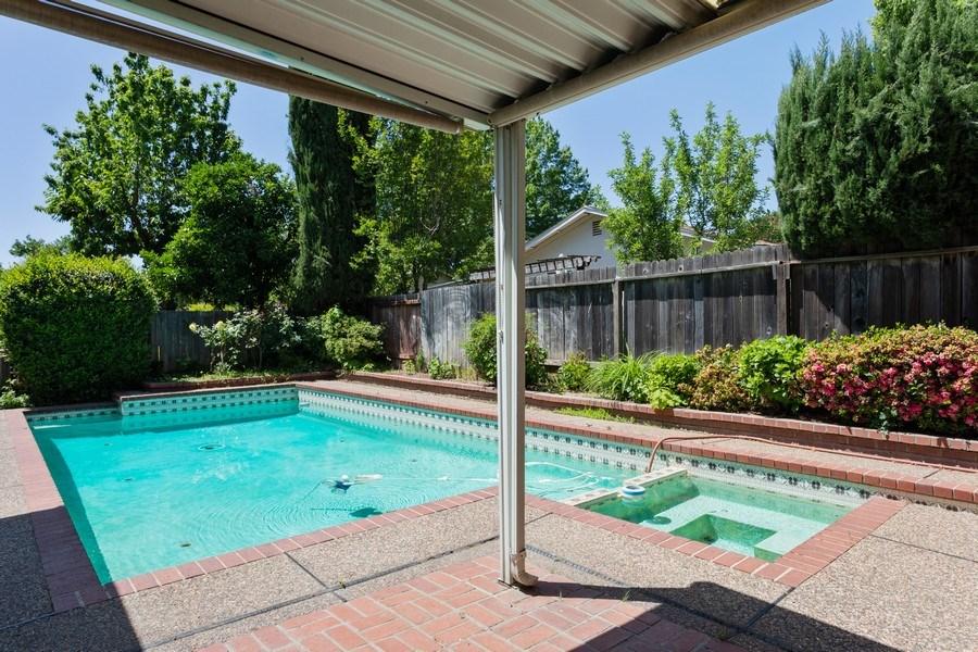 Real Estate Photography - 8539 La Riviera Dr, Sacramento, CA, 95826 - Low maintenance backyard with pool!