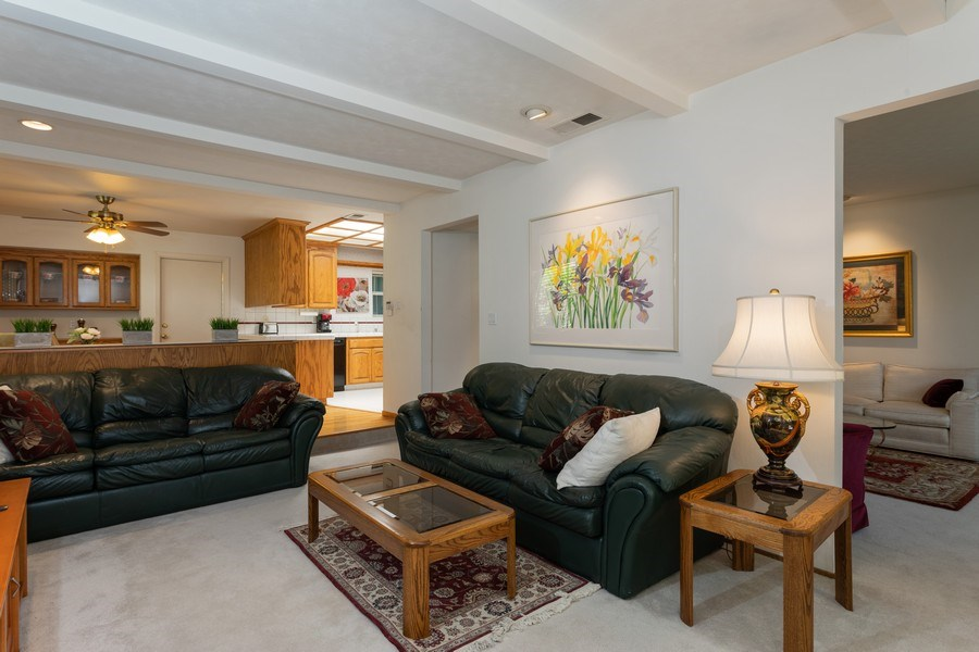 Real Estate Photography - 8539 La Riviera Dr, Sacramento, CA, 95826 - Family Rm opens to Kitchen & Living Rm!