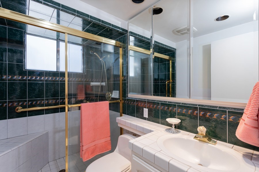 Real Estate Photography - 8539 La Riviera Dr, Sacramento, CA, 95826 - Full Guest Bathroom!