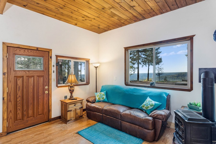 Real Estate Photography - 35835 Culberson Road, Alta, CA, 95701 - Living Room