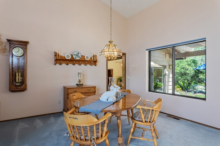 Real Estate Photography - 3570 Skyview Dr, Auburn, CA, 95602 - Formal dining area between the living room and kit