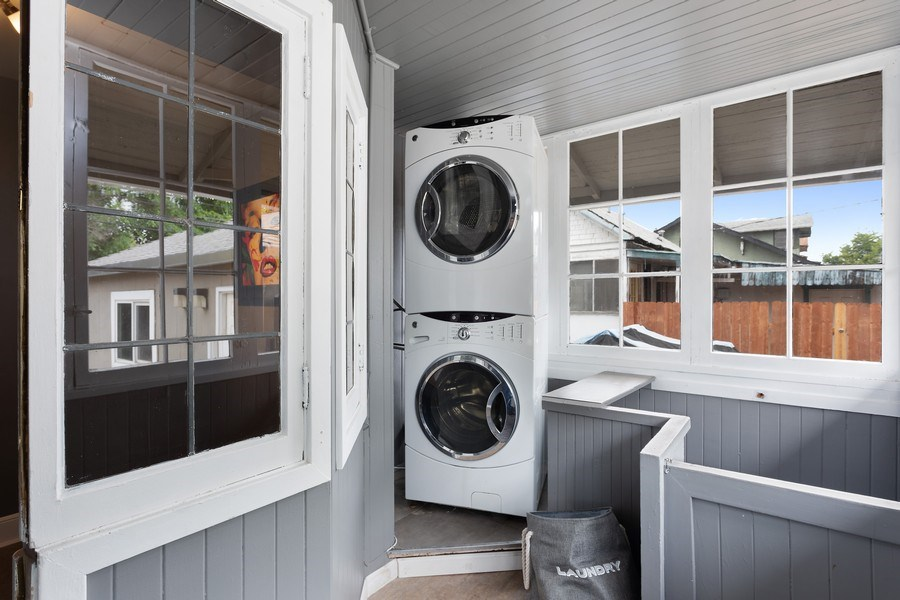 Real Estate Photography - 3172 T Street, Sacramento, CA, 95816 - Laundry Room