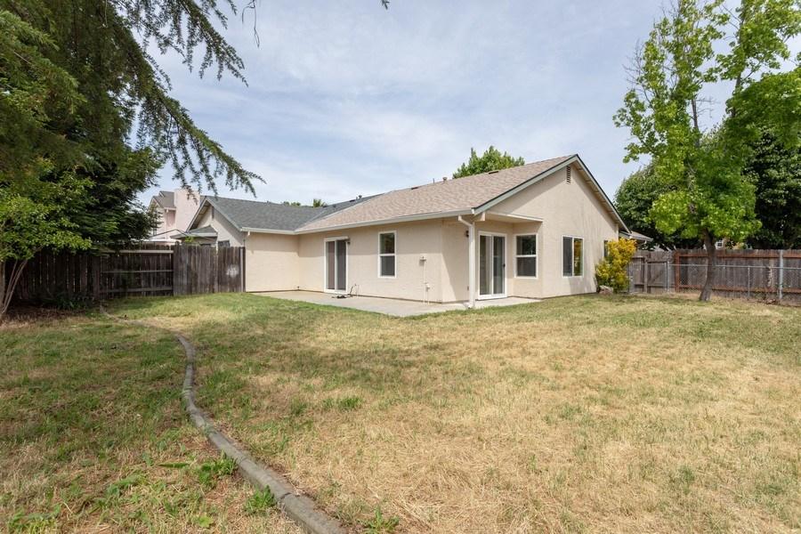 Real Estate Photography - 4570 Armadale Way, Sacramento, CA, 95823 - Rear View