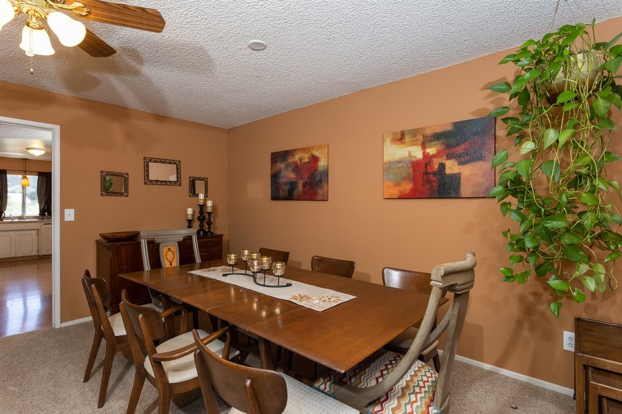 Real Estate Photography - 1370 Wesley Lane, Auburn, CA, 95603 - Dining Room