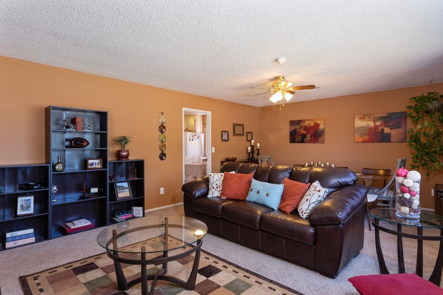 Real Estate Photography - 1370 Wesley Lane, Auburn, CA, 95603 - Living Room / Dining Room