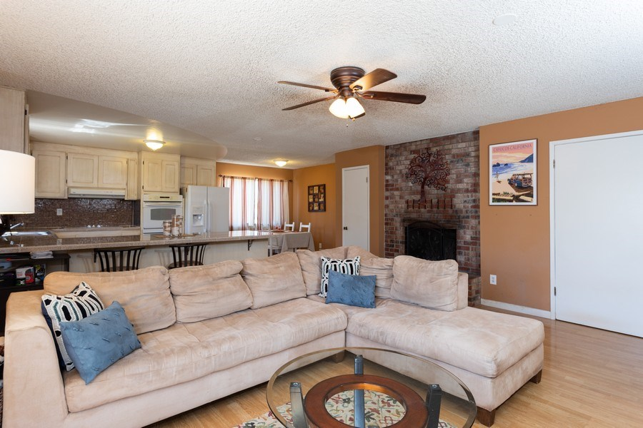 Real Estate Photography - 1370 Wesley Lane, Auburn, CA, 95603 - Family Room / Kitchen