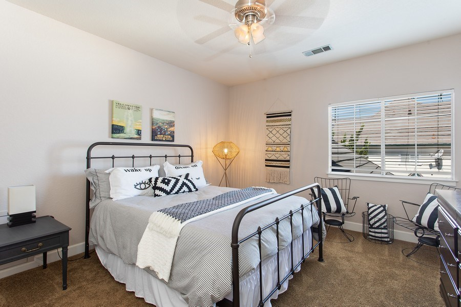 Real Estate Photography - 146 Tomlinson Drive, Folsom, CA, 95630 - 2nd Bedroom