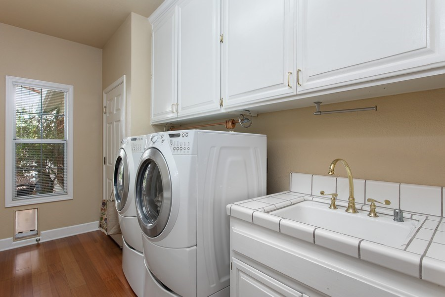 Real Estate Photography - 146 Tomlinson Drive, Folsom, CA, 95630 - Laundry Room